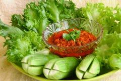 Ταϊλανδική κουζίνα Στοκ Εικόνα