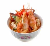 Ταϊλανδική κουζίνα Kung διοσκορέων του Tom στοκ εικόνες με δικαίωμα ελεύθερης χρήσης