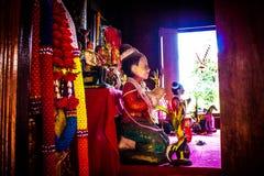 Ταϊλανδική κούκλα 1 αργίλου Στοκ Εικόνες