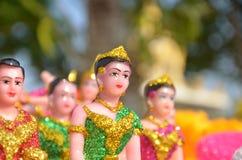 Ταϊλανδική κούκλα στο σπίτι πνευμάτων Στοκ εικόνες με δικαίωμα ελεύθερης χρήσης