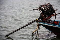 Ταϊλανδική με μακριά ουρά βάρκα Στοκ Εικόνες