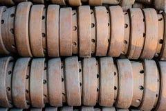 Ταϊλανδική παραδοσιακή αγγειοπλαστική αργίλου Στοκ Εικόνες