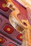 Ταϊλανδική παραδοσιακή ζωγραφική στην αψίδα ναών Στοκ εικόνες με δικαίωμα ελεύθερης χρήσης