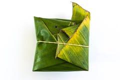 Ταϊλανδική παραδοσιακή συσκευασία επιδορπίων Στοκ Φωτογραφία
