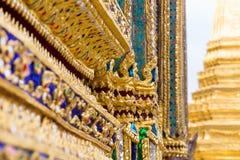 Ταϊλανδική παραδοσιακή τέχνη μωσαϊκών Στοκ φωτογραφία με δικαίωμα ελεύθερης χρήσης