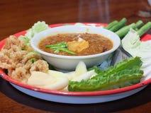 Ταϊλανδική σάλτσα τσίλι Στοκ φωτογραφία με δικαίωμα ελεύθερης χρήσης