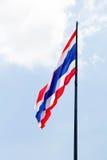 Ταϊλανδική σημαία Στοκ Εικόνες