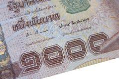 Ταϊλανδική σημείωση χιλίων μπατ Στοκ φωτογραφίες με δικαίωμα ελεύθερης χρήσης