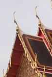 Ταϊλανδική στέγη τέχνης Στοκ φωτογραφία με δικαίωμα ελεύθερης χρήσης
