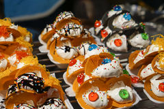Ταϊλανδική τριζάτη τηγανίτα Στοκ φωτογραφίες με δικαίωμα ελεύθερης χρήσης