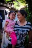 Ταϊλανδική φυλή λόφων της Karen Στοκ φωτογραφία με δικαίωμα ελεύθερης χρήσης