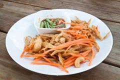 Ταϊλανδική papaya σαλάτα, SOM Tum από την Ταϊλάνδη Στοκ φωτογραφίες με δικαίωμα ελεύθερης χρήσης