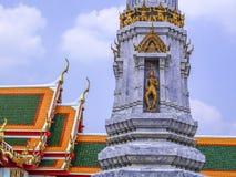 Ταϊλανδικός άγγελος γλυπτών Στοκ εικόνα με δικαίωμα ελεύθερης χρήσης