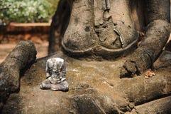 Ταϊλανδικός αρχαίος, εικόνα του Βούδα Στοκ εικόνες με δικαίωμα ελεύθερης χρήσης