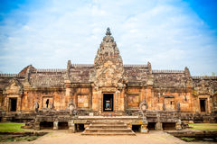 Ταϊλανδικός αρχαίος ναός Στοκ φωτογραφία με δικαίωμα ελεύθερης χρήσης