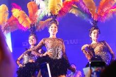 Ταϊλανδικός λαϊκός χορός στοκ φωτογραφία