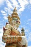 Ταϊλανδικός γίγαντας στο ναό στην επαρχία Ταϊλάνδη Cholburi Στοκ φωτογραφία με δικαίωμα ελεύθερης χρήσης