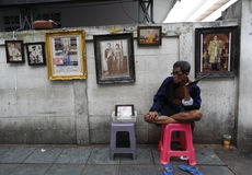 Ταϊλανδικός θάνατος βασιλιάδων Στοκ εικόνες με δικαίωμα ελεύθερης χρήσης