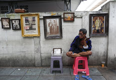 Ταϊλανδικός θάνατος βασιλιάδων Στοκ Φωτογραφία