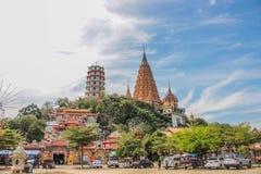 Ταϊλανδικός-κινεζικός ναός Στοκ Εικόνες