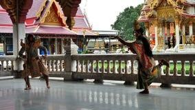 Ταϊλανδικός κλασσικός χορός Στοκ φωτογραφία με δικαίωμα ελεύθερης χρήσης
