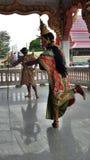 Ταϊλανδικός κλασσικός χορός Στοκ Εικόνες