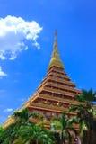 Ταϊλανδικός ναός βουδισμού Στοκ φωτογραφίες με δικαίωμα ελεύθερης χρήσης