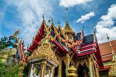 Ταϊλανδικός ναός Μπανγκόκ Στοκ φωτογραφίες με δικαίωμα ελεύθερης χρήσης