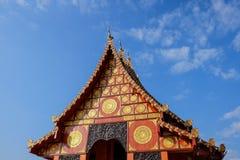 Ταϊλανδικός ναός σε Chiangrai, Ταϊλάνδη Στοκ φωτογραφίες με δικαίωμα ελεύθερης χρήσης