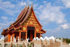 Ταϊλανδικός ναός σε Chiangrai, Ταϊλάνδη Στοκ Φωτογραφία