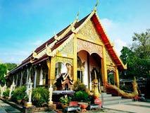 Ταϊλανδικός ναός στην Ταϊλάνδη Στοκ Φωτογραφία