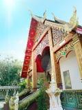Ταϊλανδικός ναός στην Ταϊλάνδη Στοκ Φωτογραφίες