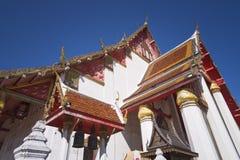 Ταϊλανδικός ναός στο ayutthaya Στοκ εικόνες με δικαίωμα ελεύθερης χρήσης