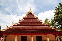 Ταϊλανδικός ναός Wat Στοκ εικόνες με δικαίωμα ελεύθερης χρήσης