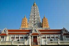 Ταϊλανδικός ναός, Watyanasangvararam Στοκ Φωτογραφία