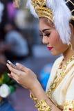 Ταϊλανδικός παραδοσιακός αποτελεί Στοκ Φωτογραφία