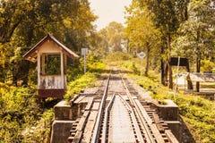 Ταϊλανδικός σιδηρόδρομος στοκ φωτογραφίες