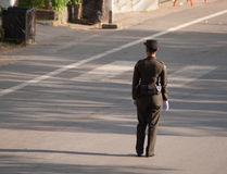 Ταϊλανδικός στρατιωτικός αξιωματούχος Στοκ Εικόνες