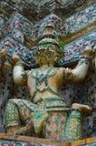 Ταϊλανδικός ταϊλανδικός ναός πολιτισμού στον ποταμό Στοκ Εικόνες