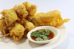 Ταϊλανδικός τηγανισμένος τρόφιμα κερδημένος τόνος Στοκ Εικόνες