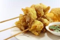 Ταϊλανδικός τηγανισμένος τρόφιμα κερδημένος τόνος Στοκ φωτογραφία με δικαίωμα ελεύθερης χρήσης