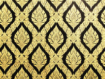 ταϊλανδικός τοίχος προτύπ&o Στοκ εικόνες με δικαίωμα ελεύθερης χρήσης