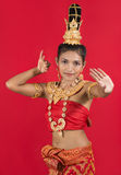 Ταϊλανδικός χορευτής Στοκ εικόνες με δικαίωμα ελεύθερης χρήσης