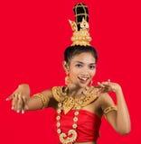 Ταϊλανδικός χορευτής στοκ εικόνα με δικαίωμα ελεύθερης χρήσης