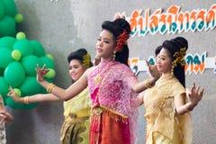 Ταϊλανδικός χορός γυναικείου πολιτισμού Στοκ Εικόνες