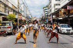 ταϊλανδικός χορός παραδοσιακός Στοκ Εικόνα