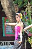 Ταϊλανδικός χορός Στοκ εικόνα με δικαίωμα ελεύθερης χρήσης