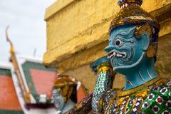 Ταϊλανδικό άγαλμα δαιμόνων Στοκ φωτογραφία με δικαίωμα ελεύθερης χρήσης