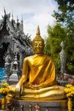 Ταϊλανδικό άγαλμα του Βούδα στο srisuphan wat στοκ εικόνες με δικαίωμα ελεύθερης χρήσης