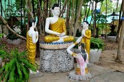 Ταϊλανδικό άγαλμα Στοκ Εικόνα